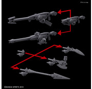 BANDAI MODEL KITS #02 Option Weapon 1 for Portanova