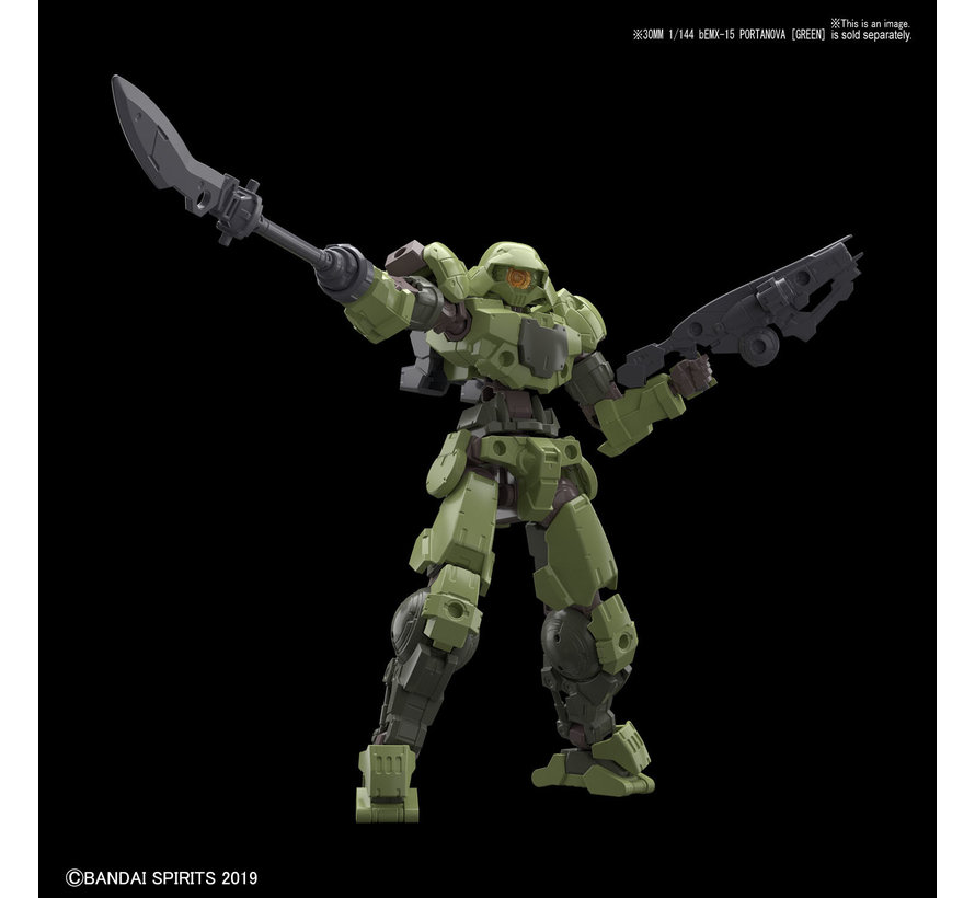 "5057814 #02 Option Weapon 1 for Portanova  ""30 Minute Mission"", Bandai 30 MM Option Weapon"