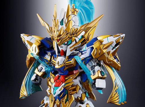 BANDAI MODEL KITS Zhao Yun 00 Gundam & Blue Dragon Drive
