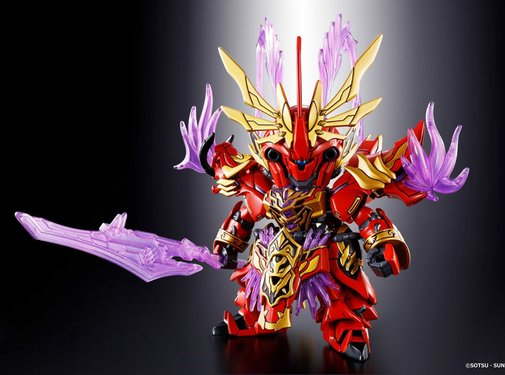 BANDAI MODEL KITS Lu Bu Sinanju & Red Hare