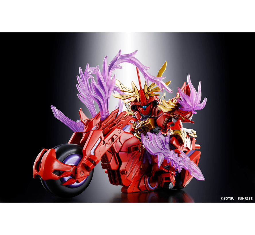 """5057610 Lu Bu Sinanju & Red Hare """"SD Sangoku Soketsuden"""", Bandai SD"""