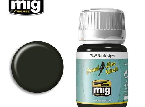 AMMO by Mig Jimenez (AMM) PANEL LINE WASH BLACK NIGHT