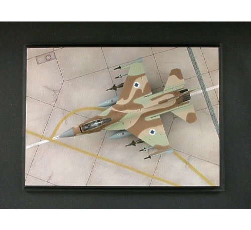 Noy's Miniatures 48001 Modern IAF Regular Tarmac. Length: 39 cm/15.35 inch; Width: 28 cm/ 11.02 inch