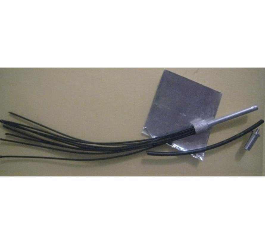 1004 Black Prewired Distributor with Aluminum Coil and Spark Plug
