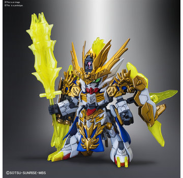 BANDAI MODEL KITS #10 Ma Chao Gundam Barbatos SD