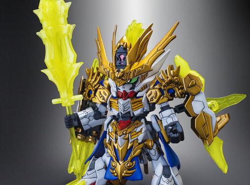 BANDAI MODEL KITS #10 Ma Chao Gundam Barbatos SD