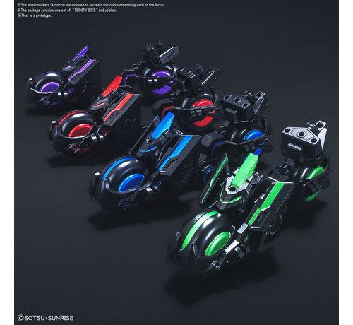 "BANDAI MODEL KITS 5057715 #12 Soketsuden Trinity Bike ""SD Sangoku Soketsuden"", Bandai SD"