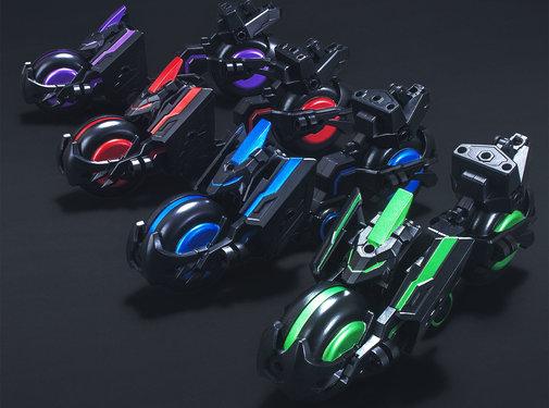 BANDAI MODEL KITS #12 Soketsuden Trinity Bike SD