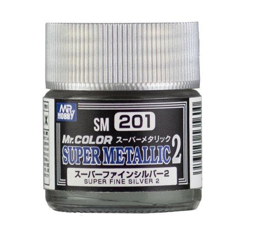 Mr. Hobby GSI - GNZ SM201 Super Fine Silver 2 10ml (EACH), GSI