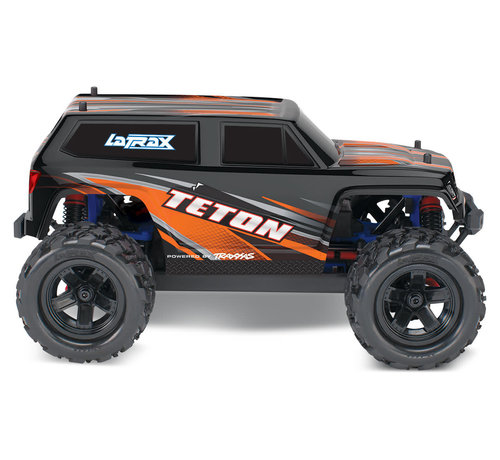 Traxxas (TRA) 76054-5_ORNG LaTrax Teton: 1/18 Scale 4WD Electric Monster Truck