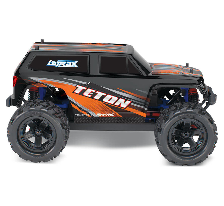 76054-5_ORNG LaTrax Teton: 1/18 Scale 4WD Electric Monster Truck