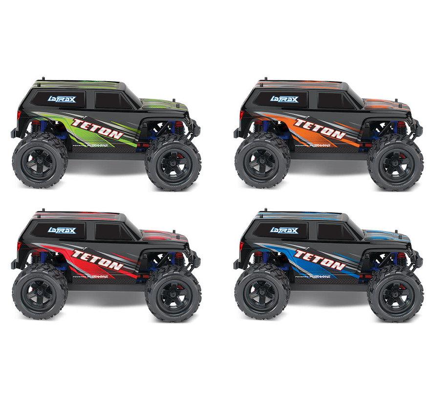 76054-5_BLUE - LaTrax Teton: 1/18 Scale 4WD Electric Monster Truck
