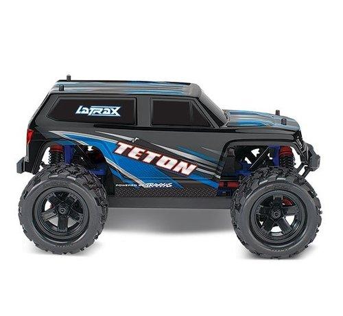 Traxxas (TRA) 76054-5_BLUE - LaTrax Teton: 1/18 Scale 4WD Electric Monster Truck