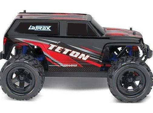 Traxxas -TRA LaTrax Teton RED 4WD
