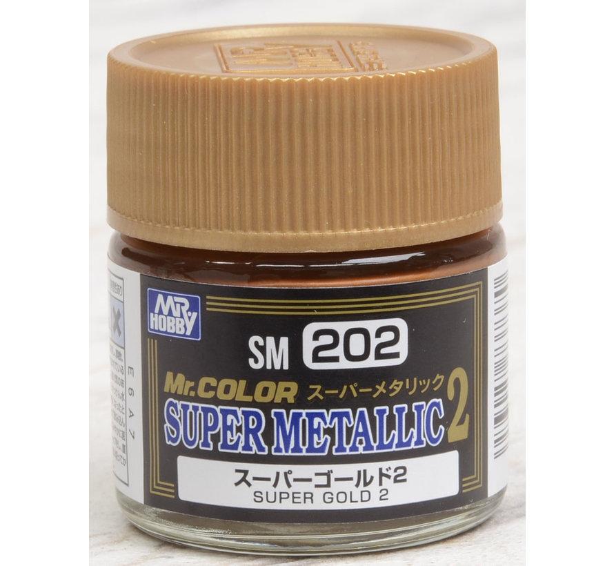 SM202 Super Gold 2 10ml (EACH), GSI