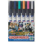 Mr. Hobby GSI - GNZ Gundam Metallic Marker Set 2