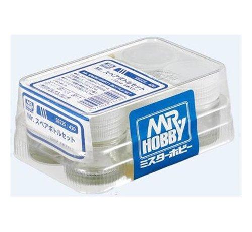 Mr. Hobby GSI - GNZ SB225 Mr. Spare Empty Bottle Set, GSI