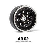 AR02 1.9 Inch 5 Lug Aluminum beadlock wheels