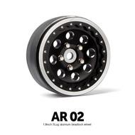 Gmade AR02 1.9 Inch 5 Lug Aluminum beadlock wheels