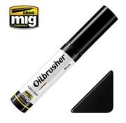 AMMO by Mig Jimenez (AMM) Mig Oilbrusher - BLACK