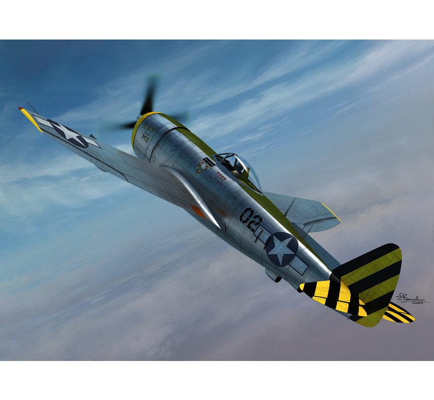 72121 Republic P-47N Thunderbolt 2 in 1 series 1/72