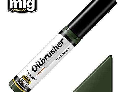 AMMO by Mig Jimenez (AMM) AMM3507 AMMO by Mig Oilbrusher - Dark Green