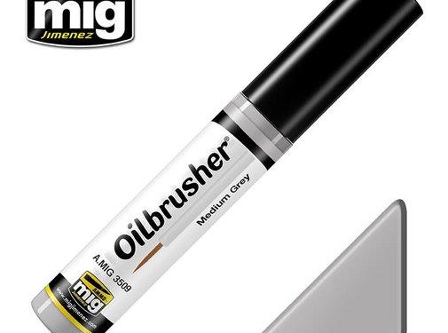 AMMO by Mig Jimenez (AMM) AMMO by Mig Oilbrusher - Medium Grey