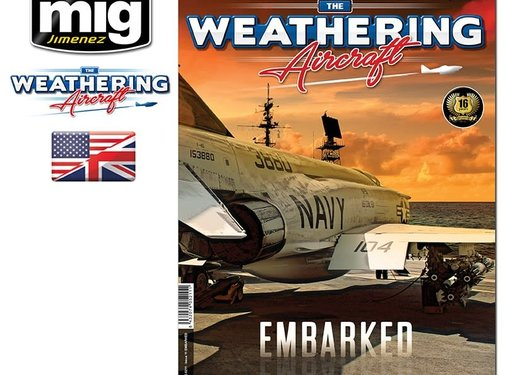 AMMO by Mig Jimenez (AMM) The Weathering Aircraft 11 - EMBARKED (English)