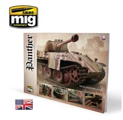 AMMO by Mig Jimenez (AMM) PANTHER - VISUAL MODELERS GUIDE (English)