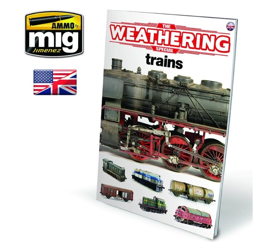 AMM6142 AMMO by Mig The Weathering Special - Trains
