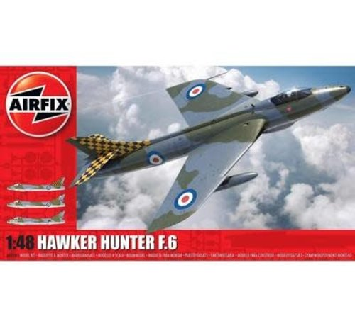 Airfix (ARX) (SO) 09185 Hawker Hunter F6 Fighter 1/48