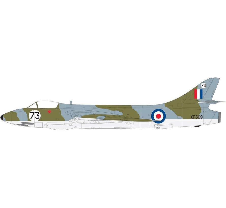 (SO) 09185 Hawker Hunter F6 Fighter 1/48