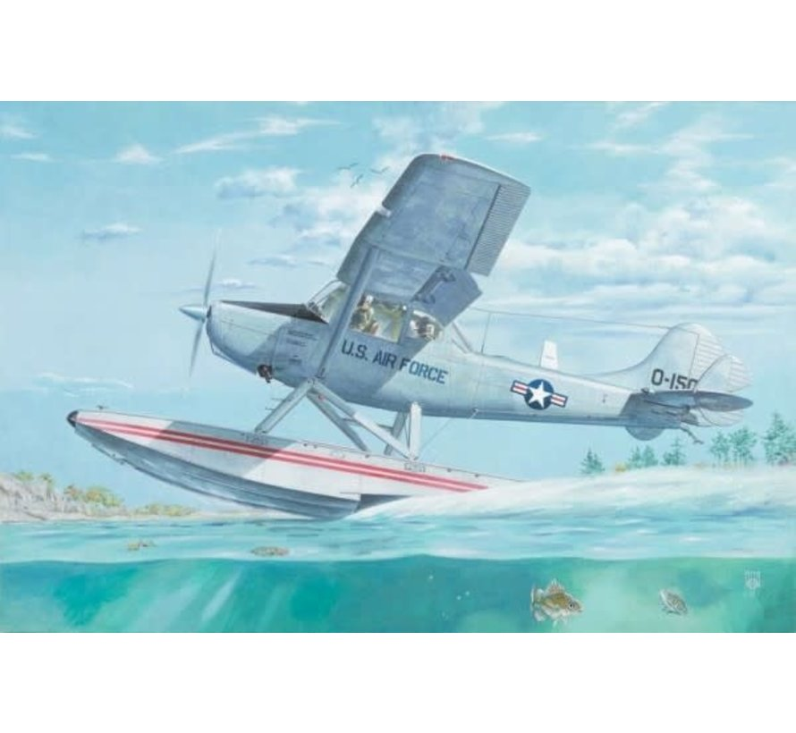 629  Cessna L19/O1E Bird Dog USAF Floatplane 1/32