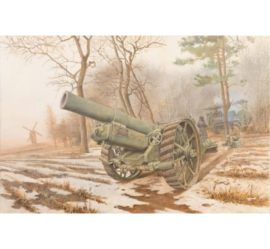 813 British BL 8-Inch Howitzer Mk VI Gun 1/35