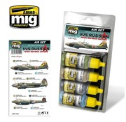 AMMO by Mig Jimenez (AMM) VVS RUSSIAN WWII BOMBER COLORS