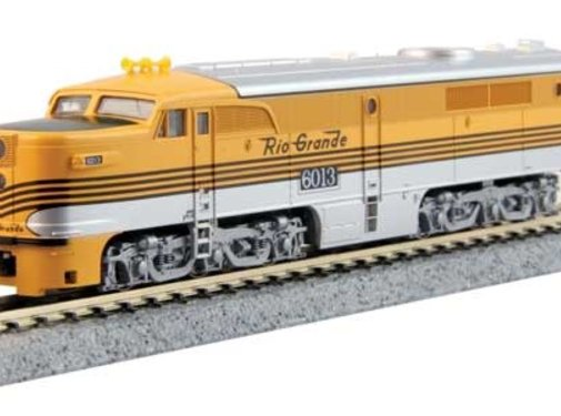 Kato USA (KAT) 381- N ALCO PA-1 DCC DRGW #6013
