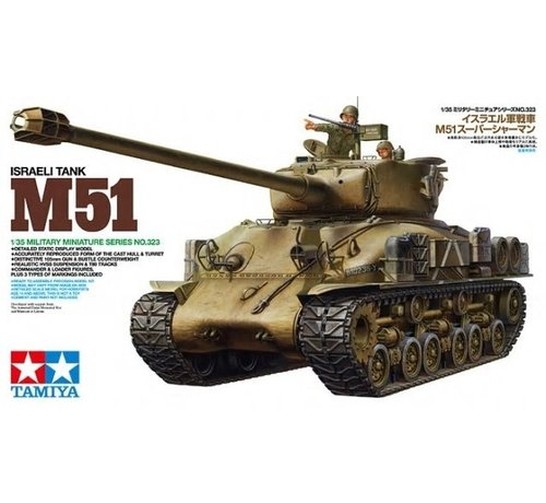 Tamiya (TAM) 865- 35323 M51 Sherman Israeli Tank 1/35