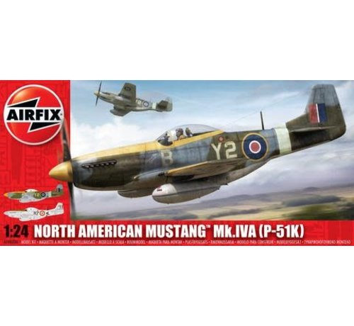 Airfix (ARX) 14003A North American Mk.IVA P-51K RAF Mustang 1/24
