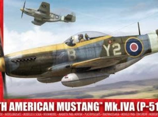 Airfix (ARX) P51K RAF Mustang 1:24