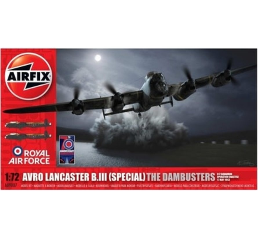 09007 Airfix Avro Lancaster B.III (Special) The Dambusters 1/72