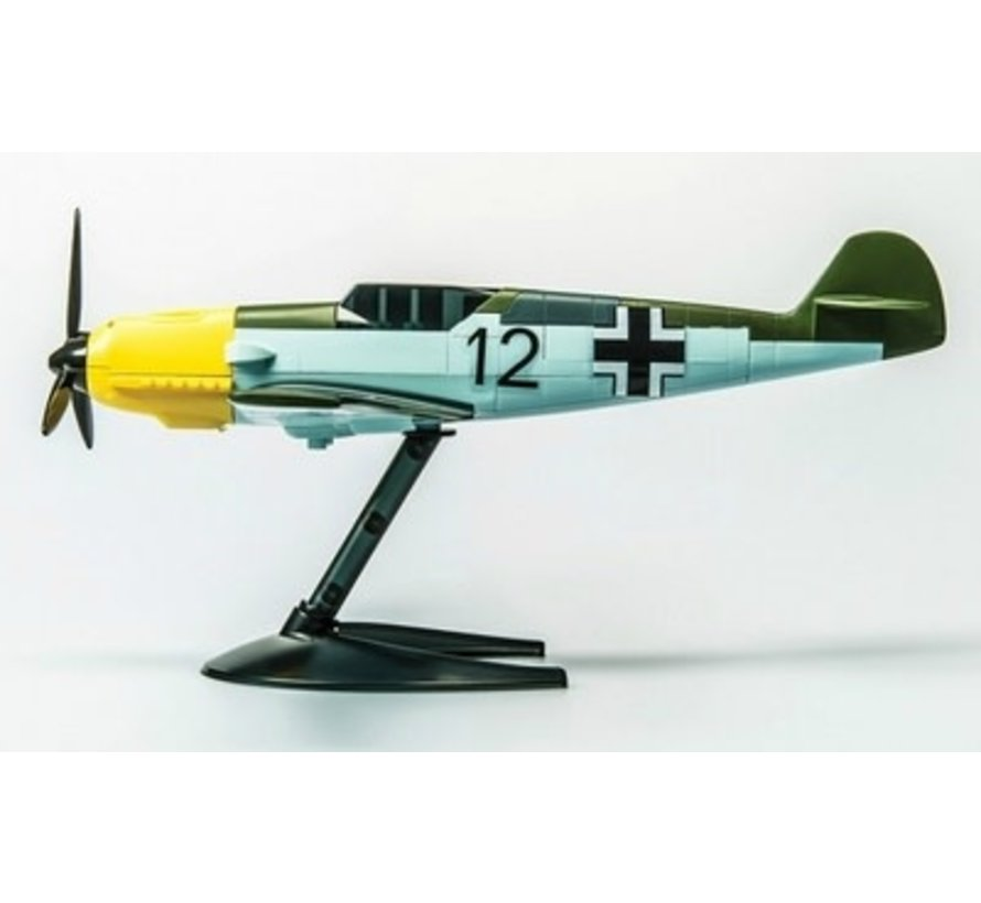 J6001 Airfix QUICK BUILD Messerschmitt Bf109e Plastic Model Kit