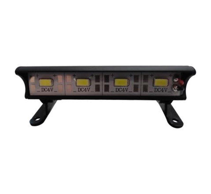 9041 - 4 LED 70mm Aluminum Light Bar