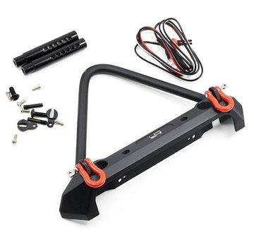 Yeah Racing (YAR) Alloy Front Bumper with LED Lights