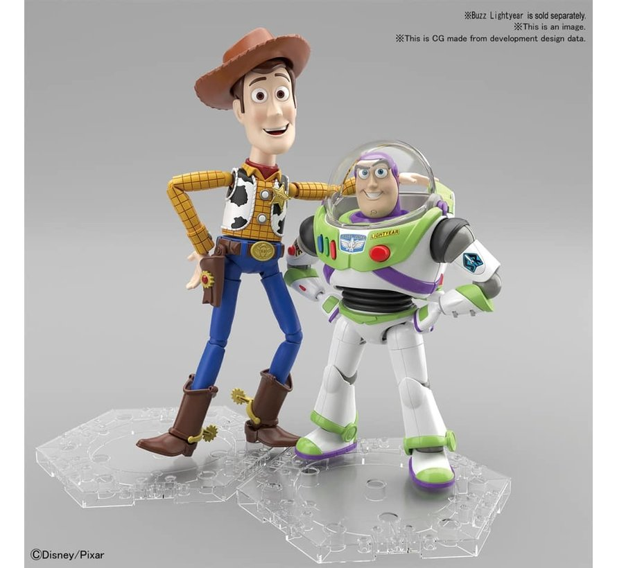 "5057699 Woody ""Toy Story"", Bandai Cinema-Rise Standard Plastic model kit"