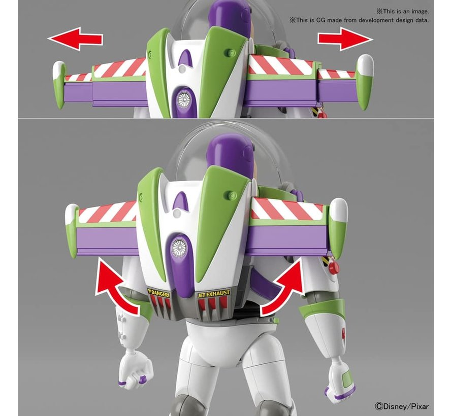 "5057698 Buzz Lightyear ""Toy Story"", Bandai Cinema-Rise Standard Plastic model kit"