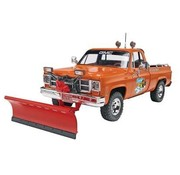 RMX- Revell GMC Pickup with Snow Plow 1:24