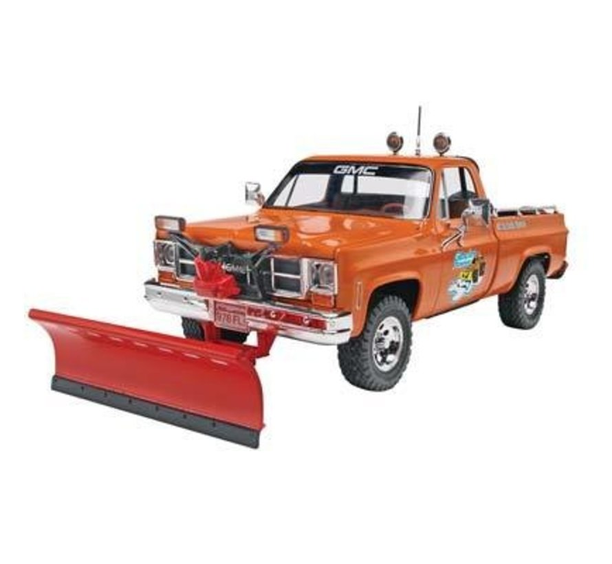 857222 GMC Pickup with Snow Plow 1/24