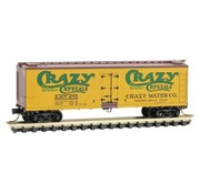 Micro-Trains Line (MTL) 489- N 40' Wood Reefer  Crazy Water