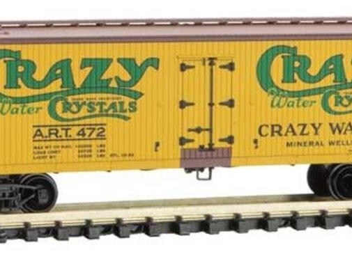 Micro-Trains Line (MTL) 489- N 40' Wood Reefer  Crazy Water