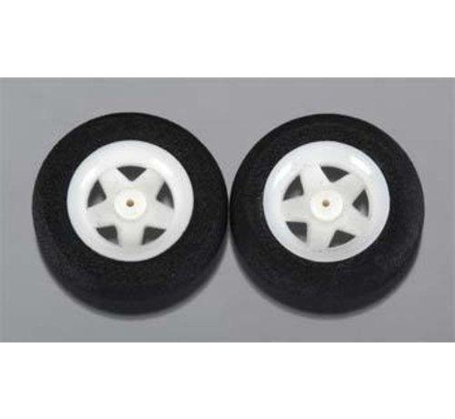 "Dubro (DUB) 123MS Micro Sport Wheels 1.23"" (2)"
